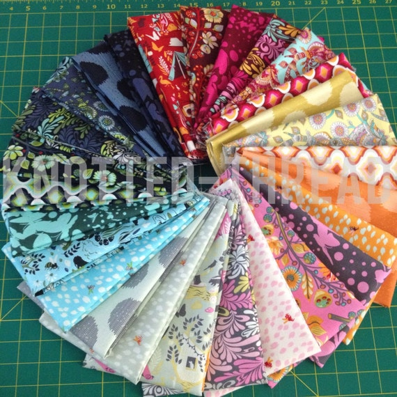 FQ Bundle - Moonshine by Tula Pink for FreeSpirit Fabrics
