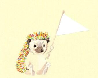 Hedgehog Flag