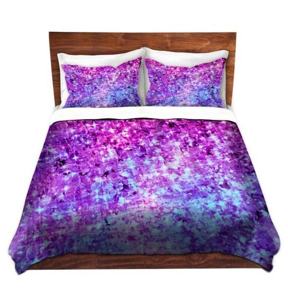 Items Similar To Radiant Orchid Galaxy Fine Art Duvet