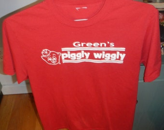 Vintage Piggly Wiggly Grocery Store Shirt L