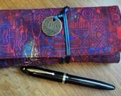Pen Wrap, Fountain Pen Wrap, Fountain Pen Case