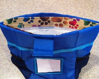 Dog Trainer's Treat Pouch Liner / Insert (Small)