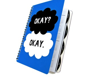 Planner 2017 - Okay Clouds - Daily Student Agenda Weekly College Academic Back to School
