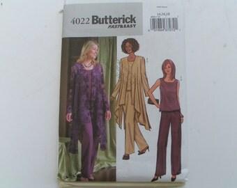 Butterick Pattern 4022 Miss Jacket Top Pants