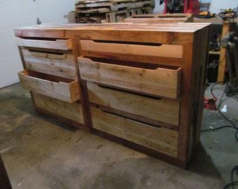 Pallet 8 Drawer Dresser
