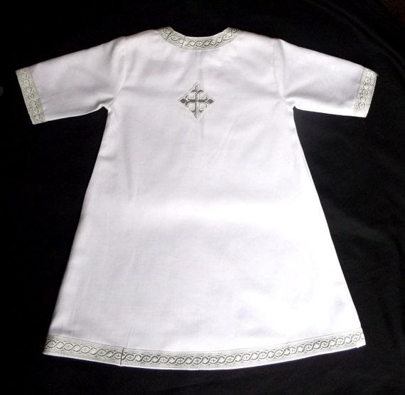 Infant S Orthodox Baptismal Robe Christening Gown