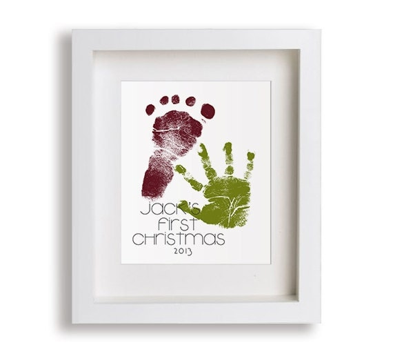 best Gifts For Grandparents From Babys First Christmas image collection