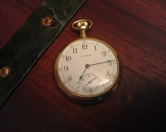 7 Jewel Waltham Pocket watch made 1904, slim and elegant