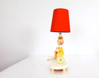 Vintage Clown Lamp Light