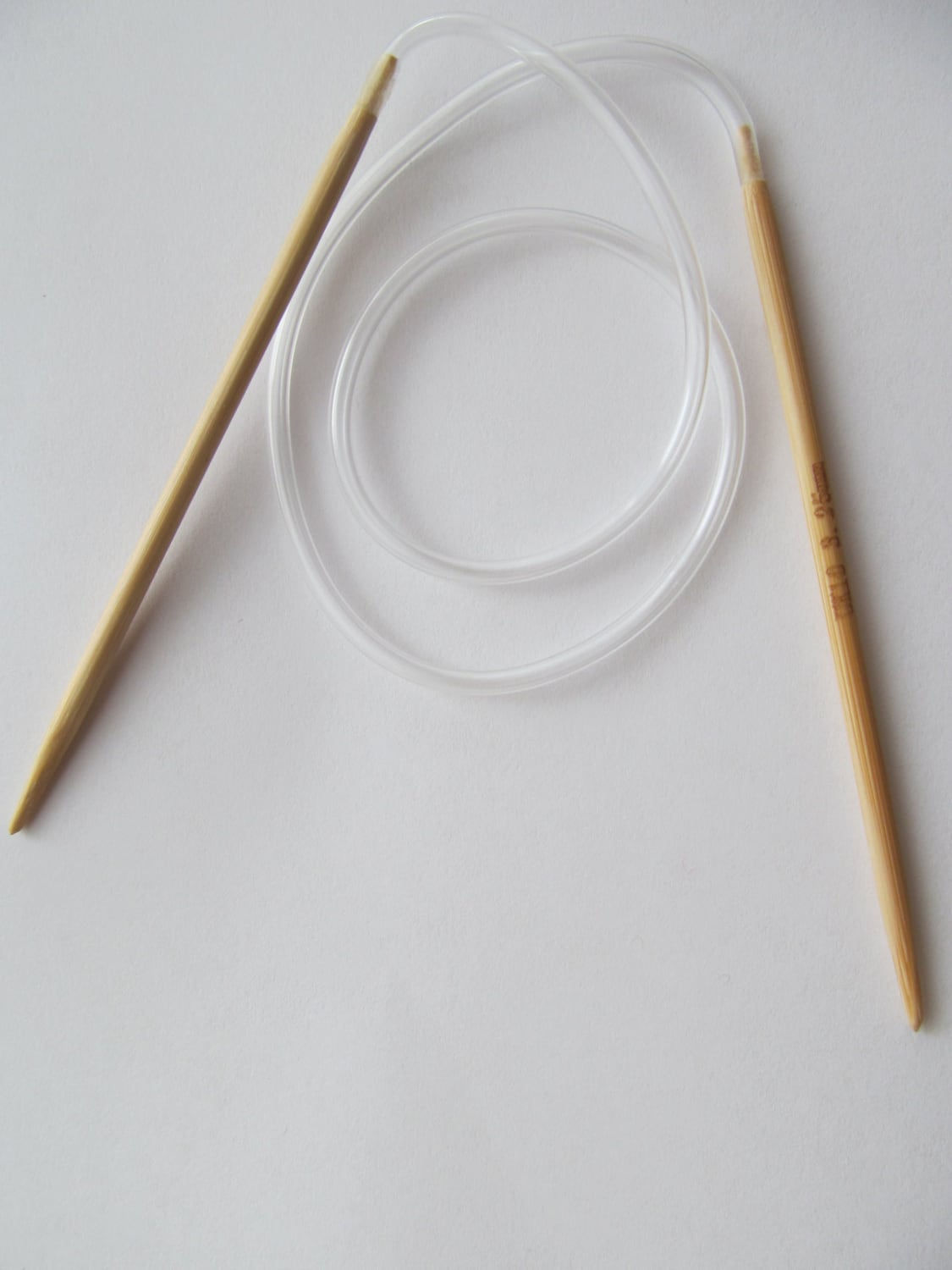 Knitting Needles Mm To Inches : Inch size knitting needles circular mm bamboo by