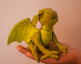 Dragon Plushie PDF - Dragonfly