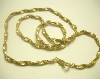 "Vintage 17"" Trifari Chain Necklace (2813)"