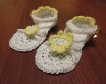 Criss Cross Baby Sandals