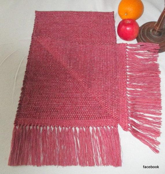 table runner table rug bureau scarf bright dusty