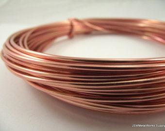 Copper Anodized Aluminum Wire, 12 gauge, 45 foot coil