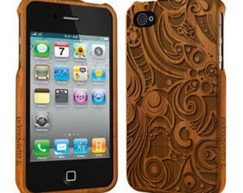 Swirls - Wood iPhone 5 / 5s Case, Bamboo iPhone 5/5s case, iPhone 5 Case
