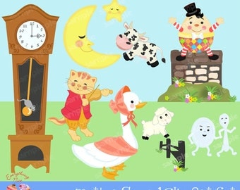 Mother Goose1 Clipart Set