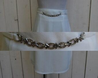 THE CHARM BELT White Circle Skirt