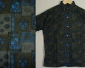 NOS / 1950s Shirt / 1960s Shirt / Size 14 / 41 Chest / Button Down Collar / Ivy / Trad / Preppy  / Mad Men / Mod / New Old Stock / Deadstock
