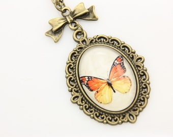 Necklace butterfly 1825C