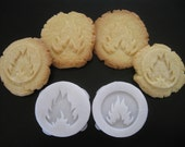 FLAME COOKIE STAMP recipe and instructions - make your own Divergent inspired Cookies