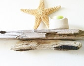 35 Inch Drift Wood Shelf for Rustic Decor or Man Cave Beach Decor (529)