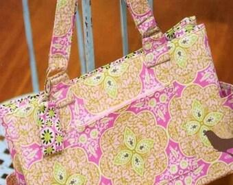 PATTERN:  Urban DIAPER BAG - Izzy & Ivy Designs