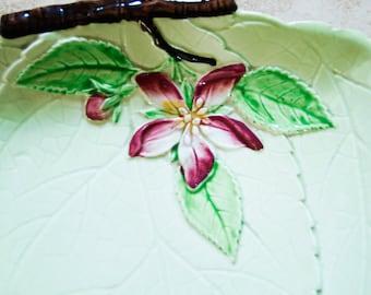 Carlton Ware Apple Blossom Triangular Dish