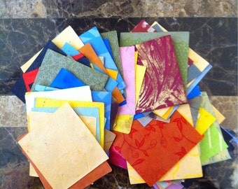 100 Paper Shapes - Squares