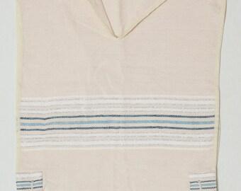 Tallit Katan - Masoret blue