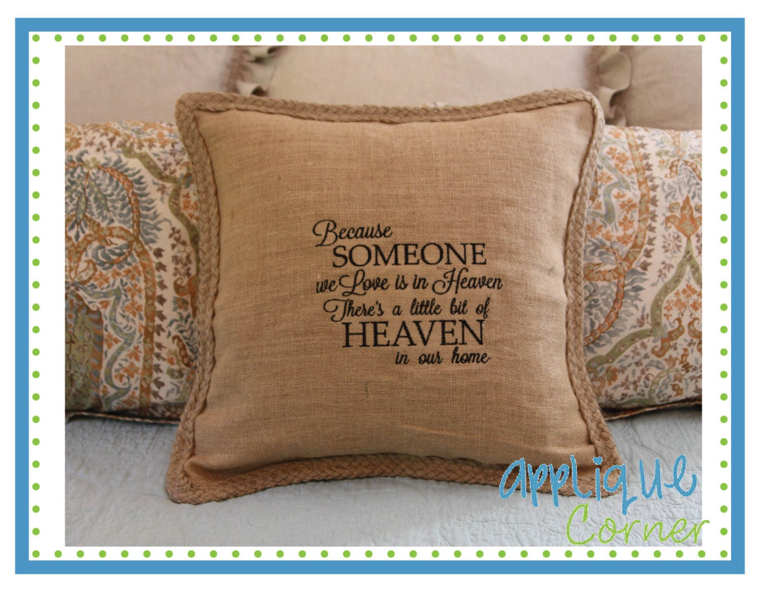 Instant download some we love in heaven applique design in for Love in design