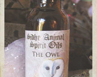 The Owl Sidhe Animal Spirit Oil