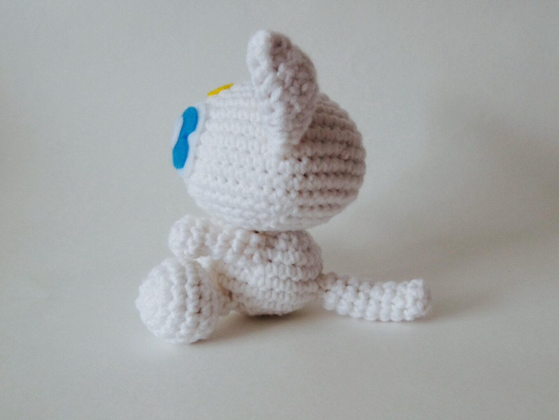 Amigurumi sailor moon inspired crochet Little by RedPandaKnits