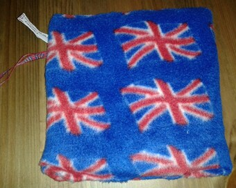 I spy Bag Children's toy/game - British flag fleece