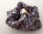 True Timber Regular Size Minky Pet CuddlePuff Bed