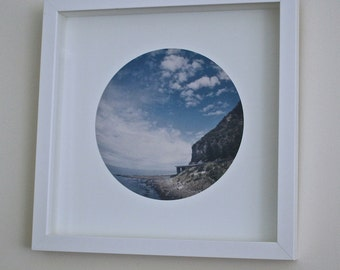 Framed print of Sea Cliff Bridge No.2
