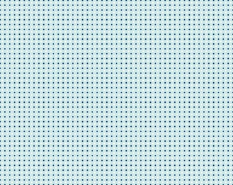 Dots in Aqua: Natalie Lymer - Enchant Collection 1 Yard Cut