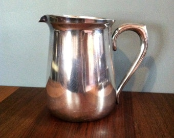 Vintage Silver Plated Water Pitcher