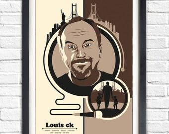 Louie ck - Portrait Poster - 19x13 Poster