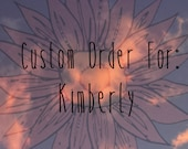 CUSTOM ORDER For Kimberly Soldered Crosses, Chandelier Crystals, Tear Drop Crystals