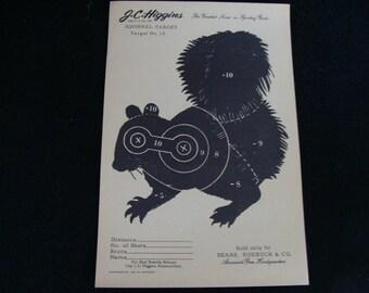 Vintage Squirrel Target no. 10 by J C Higgins