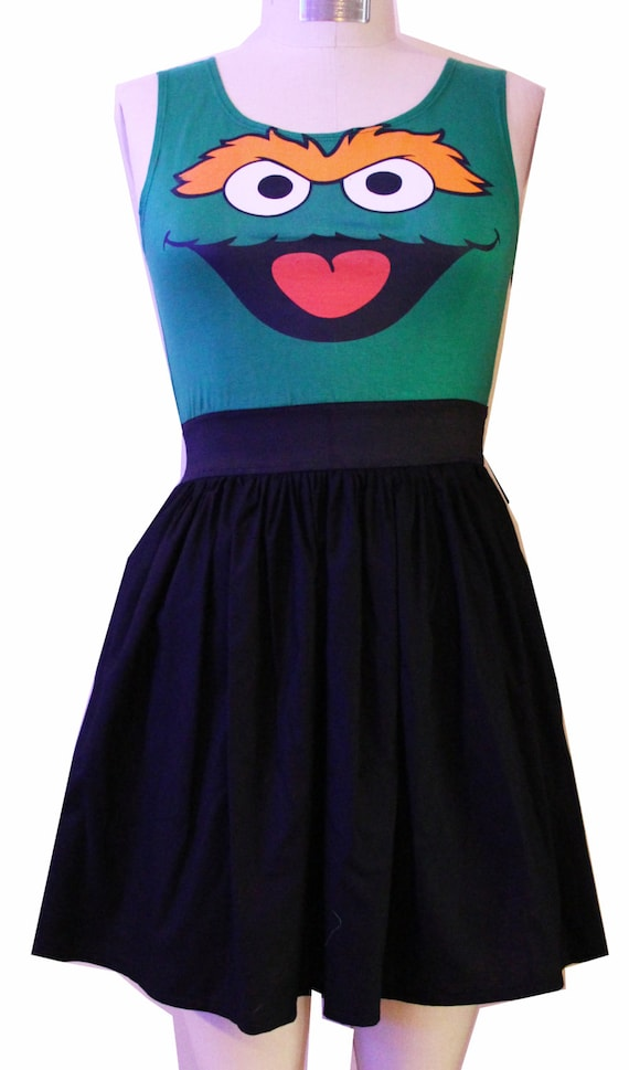 The Grouch Inspired Full Dress- SALE