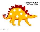 Dinosaur Play Dough Mats - Stegosaurus, Spinosaurus, Diplodocus, Pteranodon