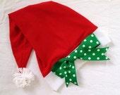 Santa running hat