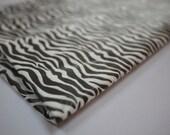 Tissue Paper / Zebra on White Print / 10 Large Sheets