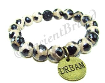 Dream Charm Stretch Beaded Bracelet