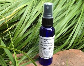 SweetGrass Hydrosol Spray for Room or Body