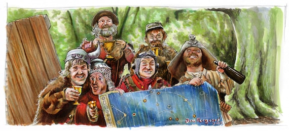 Time Bandits - Come on Smile!  Poster Print