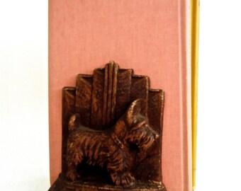 SALE Art Deco Scottie Book ends vintage SALE