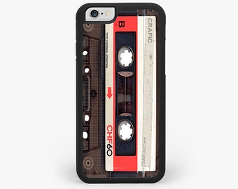 Red Vintage Cassette Tape IPHONE CASE | iPhone 6/6S | iPhone 6/6S PLUS | iPhone 5/5S | iPhone 5C | iPhone 4/4S case